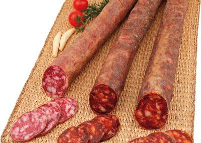 Chorizo y salchichón
